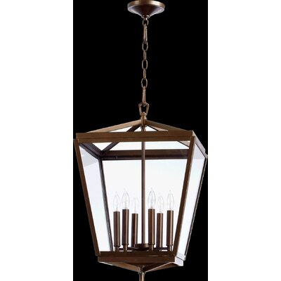Politte 6-Light Foyer Pendant