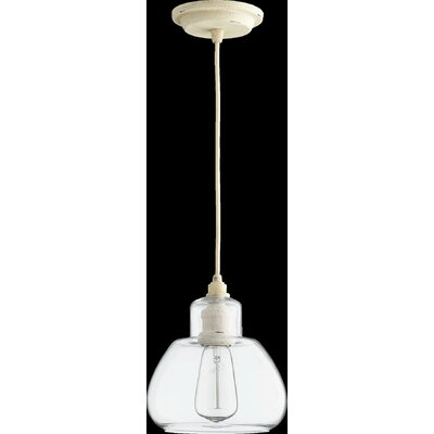 Schoolhouse 1-Light Pendant Finish: Persian White