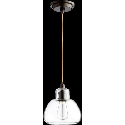 Schoolhouse 1-Light Pendant Finish: Oiled Bronze