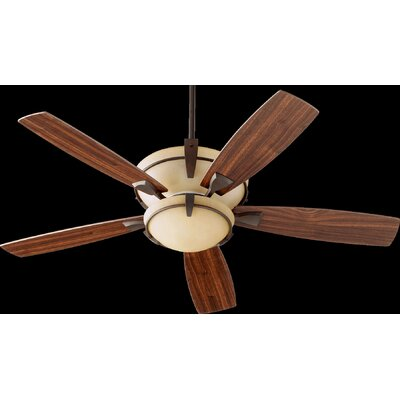 52 Mendocino 5-Blade Ceiling Fan Finish: Oiled Bronze