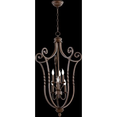 Tribeca Foyer Pendant Size: Large, Finish: Oiled Bronze