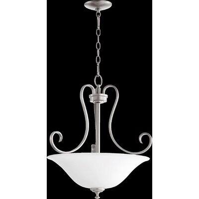 Celesta 3-Light Pendant Finish: Classic Nickel