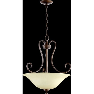 Celesta 3-Light Pendant Finish: Oiled Bronze