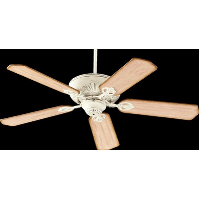 52 Chateaux 5-Blade Ceiling Fan Finish: Persian White with Distressed Weathered Pine Blade