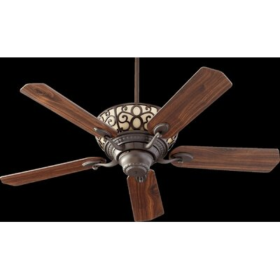52 Cimarron 5-Blade Ceiling Fan Finish: Oiled Bronze with Oiled Bronze/Walnut Blades