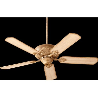52 Chateaux 5-Blade Ceiling Fan Finish: French Umber with Distressed Weathered Pine Blades
