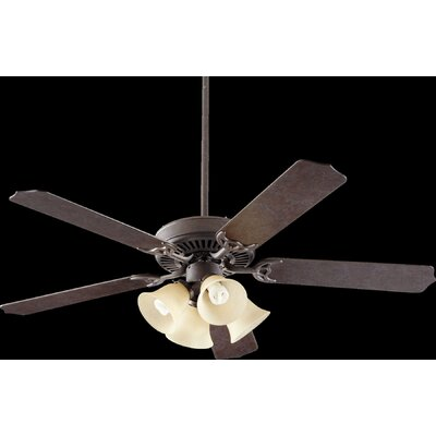 52 Capri VII 5-Blade Ceiling Fan Finish: Toasted Sienna