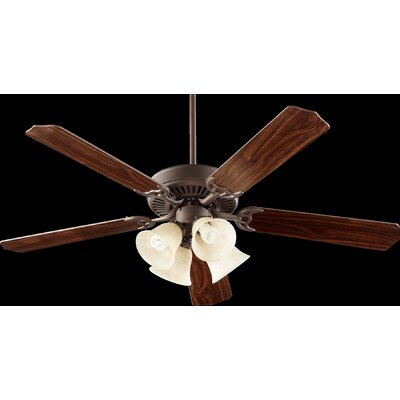 52 DunsterI 5-Blade Ceiling Fan Finish: Oiled Bronze