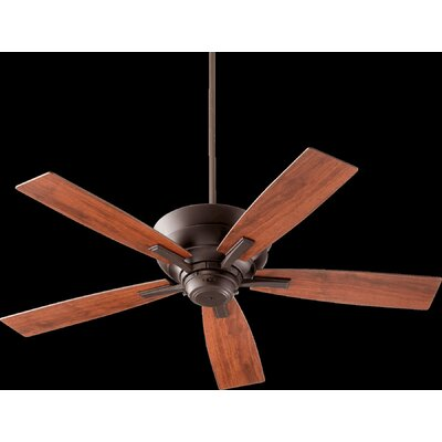 52 Caffee 5-Blade Ceiling Fan Finish: Oiled Bronze with Vintage Walnut Blades