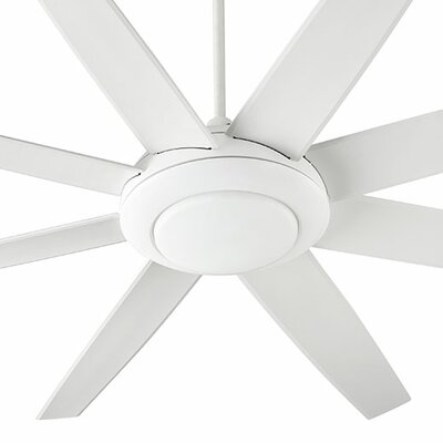 70 Modesto 8 Blade Ceiling Fan Finish: Studio White