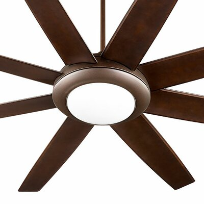 70 Modesto 8 Blade Ceiling Fan Finish: Oiled Bronze
