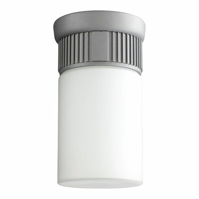 Manhattan 1-Light Flush Mount Finish: Grey