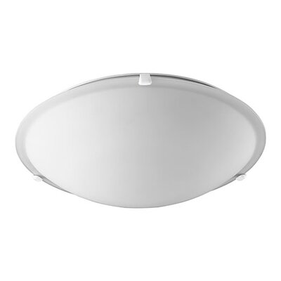 4-Light Flush Mount Finish: White