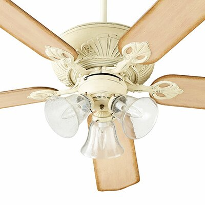 60 Chateaux 5-Blade Ceiling Fan Finish: Vintage Gold Leaf