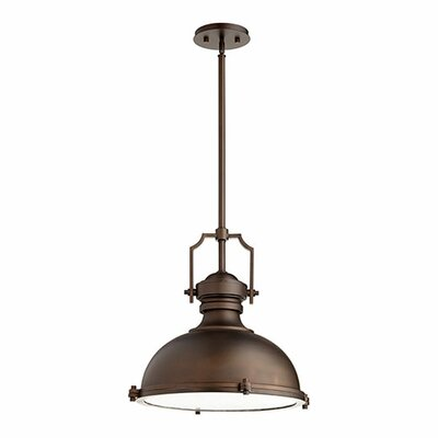 1-Light Mini Pendant Finish: Oiled Bronze