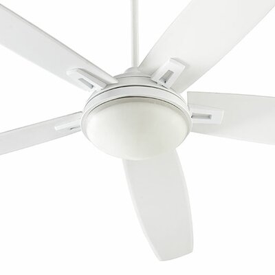 72 Vector 5-Blade Ceiling Fan Finish: Studio White