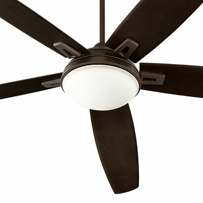 72 Vector 5-Blade Ceiling Fan Finish: Oiled Bronze