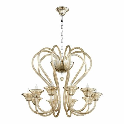 Vivaldi 10-Light Candle-Style Chandelier
