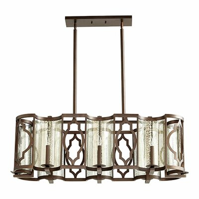 Ventana 8-Light Kitchen Island Pendant