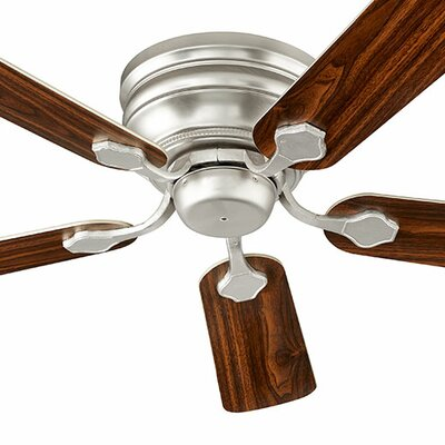 44 Barclay 5-Blade Ceiling Fan Finish: Satin Nickel