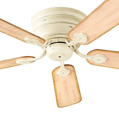 44 Barclay 5-Blade Ceiling Fan Finish: Persian White