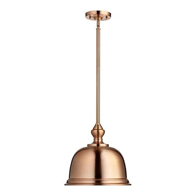 Kettle Pend 1-Light Mini Pendant Size: 15 H x 13.75 W x 13.75 D, Finish: Polished Nickel