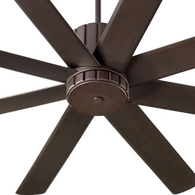 60 Proxima 8 Blade Ceiling Fan Finish: Oiled Bronze