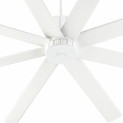72 Proxima 8 Blade Ceiling Fan Finish: Studio White