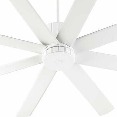 60 Proxima 8 Blade Ceiling Fan Finish: Studio White