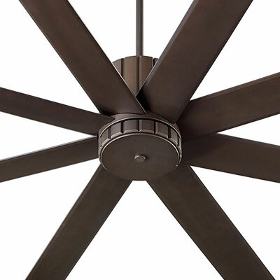 72 Proxima 8 Blade Ceiling Fan Finish: Oiled Bronze
