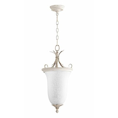 Flora 2-Light Pendant Finish: Persian White