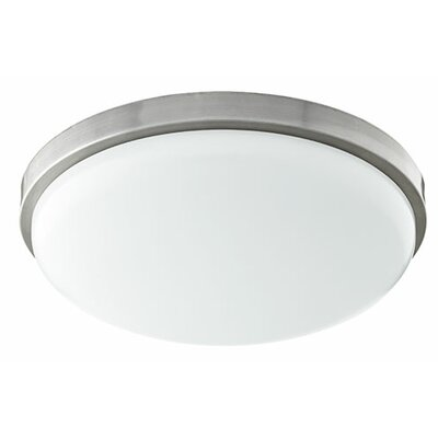 1-Light Flush Mount Size: 3.75 H x 14.5 W