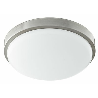 1-Light Flush Mount Size: 3.25 H x 11.5 W