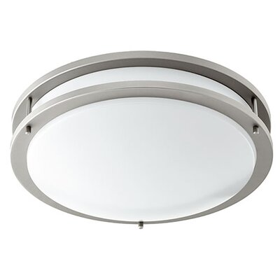 1-Light Flush Mount Size: 4 H x 14.5 W