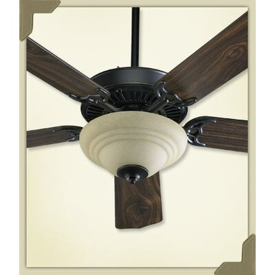 Ceiling Fan Bowl Kit End Cap Finish: Matte Black