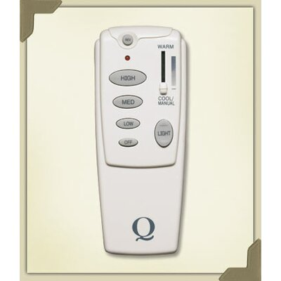 Hand Held Fan Remote Control in White