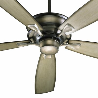 60 Alton 5 blade Ceiling Fan Finish: Antique Flemish