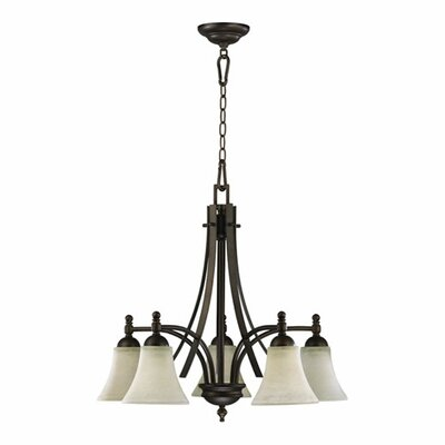 Eastchester Transitional 5-Light Shaded Chandelier