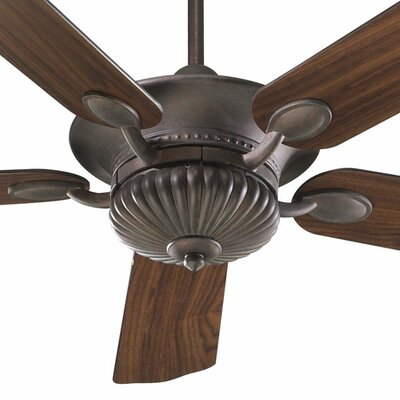 52 Bakersfield 5-Blade Ceiling Fan Finish: Toasted Sienna with Toasted Sienna / Walnut Blades