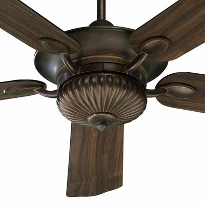52 Bakersfield 5-Blade Ceiling Fan Finish: Corsican Gold with Corsican Gold / Walnut Blades