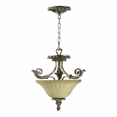 Barcelona 2-Light Convertible Inverted Pendant