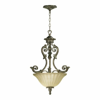 Barcelona 3-Light Inverted Pendant