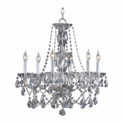 Evgenia 6-Light Crystal Chandelier