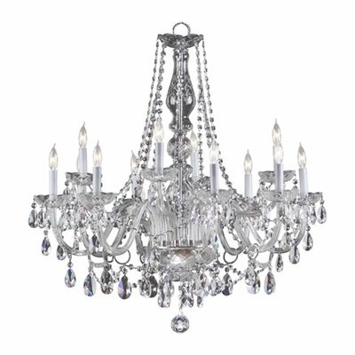 Evgenia 12-Light Crystal Chandelier Color: Imperial Crystal