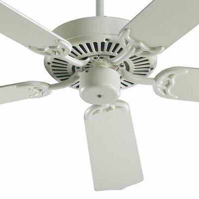 42 Capri 5-Blade Ceiling Fan Finish: Antique White with Antique White Blades