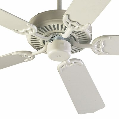 42 Staffordshire 5-Blade Ceiling Fan Finish: Studio White with Studio White Blades