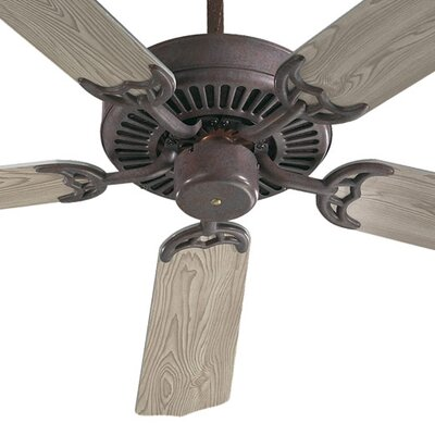 52 Staffordshire 5-Blade Energy Star Ceiling Fan Finish: Cobblestone with Old Pine Blades