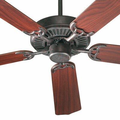 52 Staffordshire 5-Blade Energy Star Ceiling Fan Finish: Capri Toasted Sienna with Rosewood/Walnut Blades