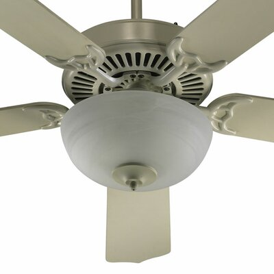 52 Staffordshire 5-Blade Ceiling Fan Finish: Antique White with Antique White Blades