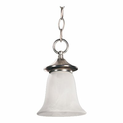 Coventry 1-Light Mini Pendant Finish: Satin Nickel